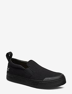 Duncan - baskets slip-ons - black/black sole