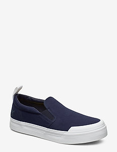 Duncan - baskets slip-ons - dark navy