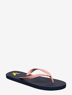 Flip Flop - flip flops - dark navy/coral pink