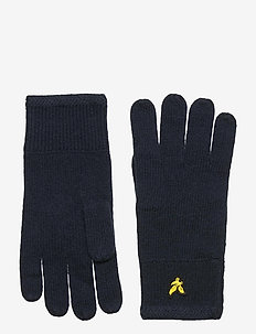 Racked rib gloves - handschoenen - dark navy