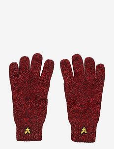 Mouline Gloves - rękawiczki - grenadine red/dark navy