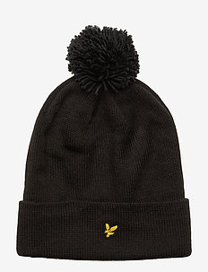 Bobble Beanie - TRUE BLACK