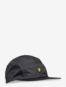 Ripstop 5 Panel Cap - czapki - true black