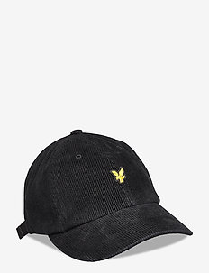 Cord Baseball Cap - kepsar - true black