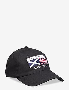 Heritage Patch Baseball Cap - petten - true black