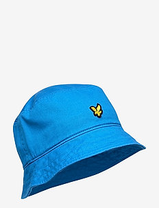 Cotton Twill Bucket Hat - BRIGHT ROYAL BLUE