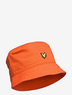 Cotton Twill Bucket Hat - bucket hats - burnt orange