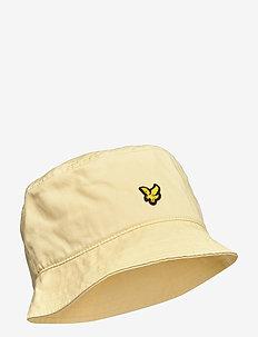 Cotton Twill Bucket Hat - bucket hats - lemon