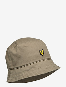 Cotton Twill Bucket Hat - bucket hats - lichen green