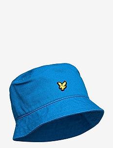 Cotton Twill Bucket Hat - bucket hats - ocean blue