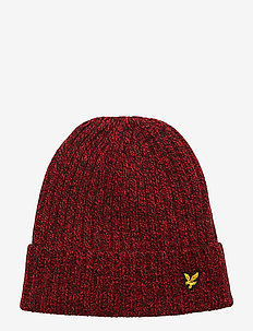 Mouline Beanie - GRENADINE RED/DARK NAVY