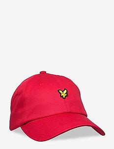 Baseball Cap - caps - gala red