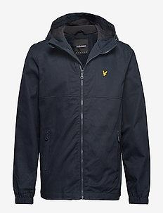 Cotton Twill Jacket - DARK NAVY