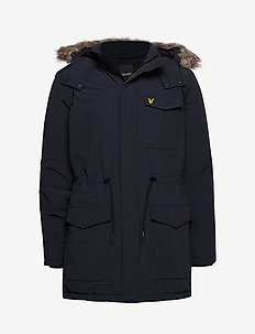 Winter Weight Microfleece Jacket - parkas - dark navy