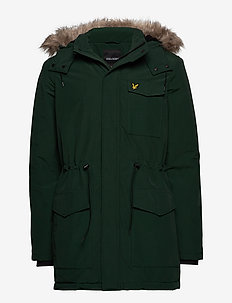 Winter Weight Microfleece Jacket - JADE GREEN