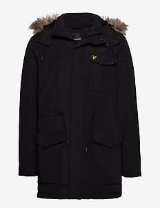 Winter Weight Microfleece Jacket - TRUE BLACK