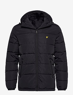 Wadded Jacket - fôrede jakker - jet black