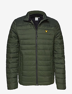 Lightweight Quilted Jacket - DEEP SPRUCE