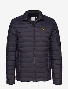 Lightweight Quilted Jacket - TRUE BLACK