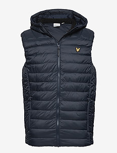 Lightweight Quilted Gilet - NAVY