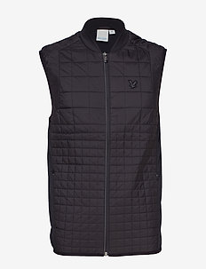 Black Ten Gilet - TRUE BLACK