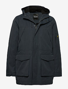 Panelled Jacket - parki - dark navy