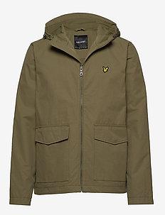 Double Pocket Jacket - light jackets - lichen green