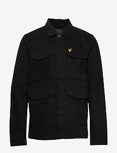 Utility Jacket - basic shirts - jet black