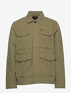 Utility Jacket - basic-hemden - lichen green
