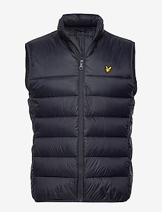 Wadded Gilet - DARK NAVY