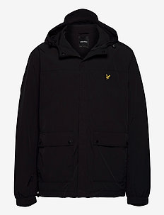 Hooded Pocket Jacket - windjassen - jet black