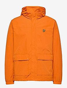 Hooded Pocket Jacket - vindjakker - risk orange