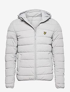 Lightweight Puffer Jacket - padded jackets - grey fog