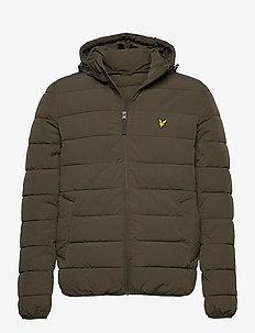 Lightweight Puffer Jacket - gefütterte jacken - trek green