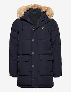 Heavyweight Longline Puffer Jacket - donsjassen - dark navy