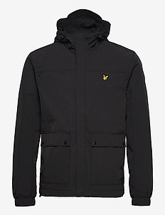 Hooded Pocket Jacket - vestes légères - jet black