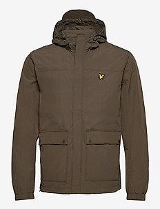 Hooded Pocket Jacket - vestes légères - trek green