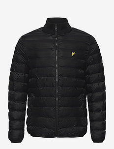Packable Puffer Jacket - toppatakit - jet black