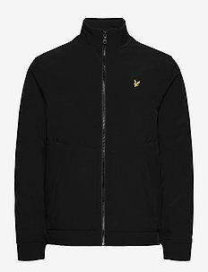 Funnel Neck Softshell Jacket - vestes légères - jet black