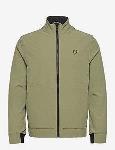 Funnel Neck Softshell Jacket - vestes légères - moss