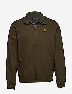 Harrington jacket - DARK SAGE