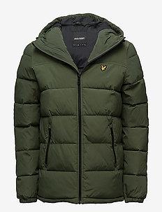 Wadded Jacket - WOODLAND GREEN