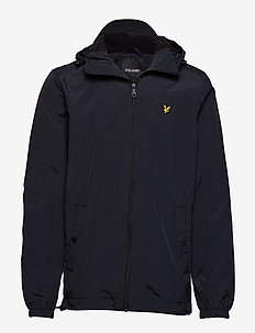 Microfleece Lined Zip Through Jacket - TRUE BLACK