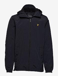 Microfleece Lined Zip Through Jacket - vindjakker - true black