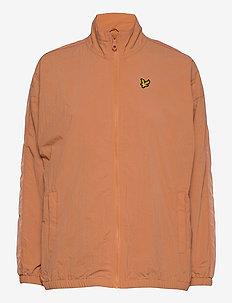 Perforated Funnel Neck Jacket - lichte jassen - dusk orange