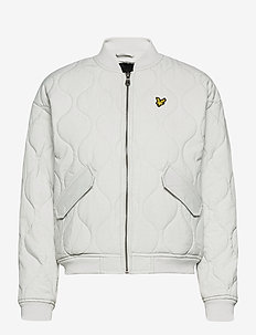 Quilted Bomber - quiltade jackor - cloud