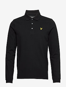 LS Polo Shirt - long-sleeved - jet black