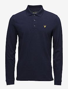 LS Polo Shirt - lange mouwen - navy
