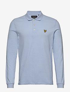 LS Polo Shirt - długi rękaw - pool blue
