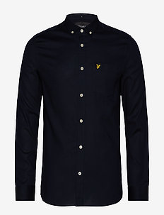 Slim Fit Oxford Shirt - DARK NAVY